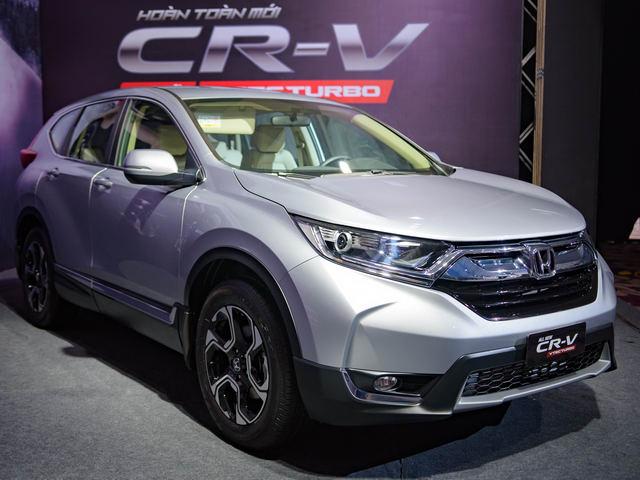 3 phiên bản Honda CRV 2017 ở Việt Nam có gì khác biệt? - 1