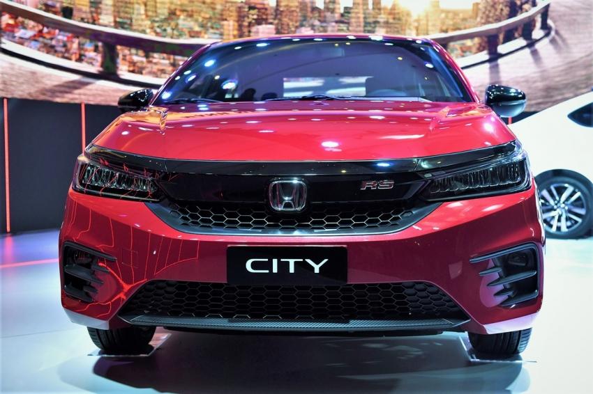 Đầu xe Honda City 2021
