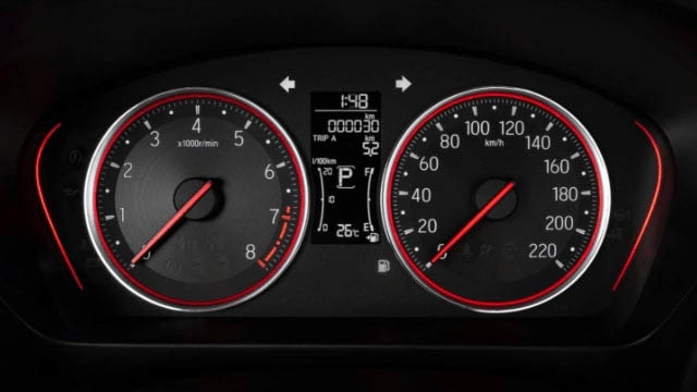 Đồng hồ tốc độ trên Honda City 2021