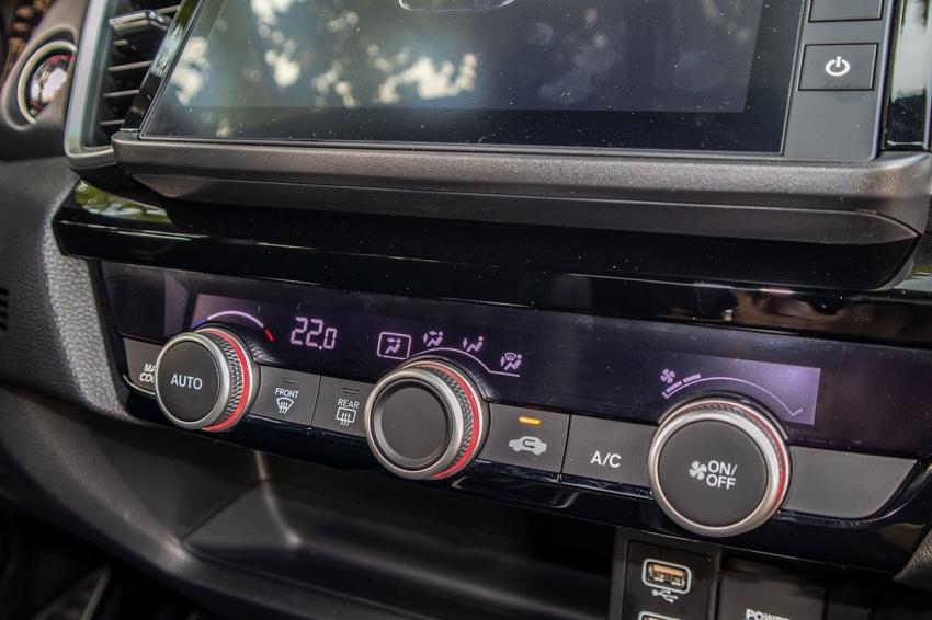 Hệ thống điều chỉnh điều hoà trên Honda City 2021