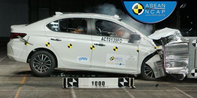 Honda City đạt chứng nhận an toàn ASEAN NCAP